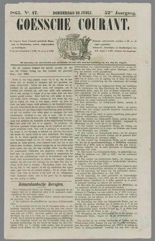 Goessche Courant 1865-06-22