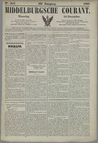 Middelburgsche Courant 1888-12-24