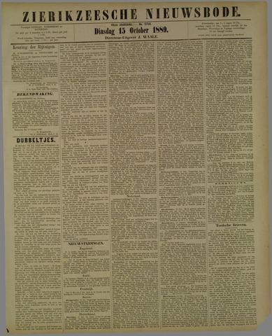 Zierikzeesche Nieuwsbode 1889-10-15