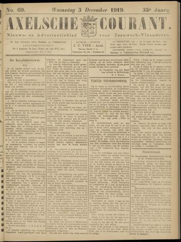 Axelsche Courant 1919-12-03