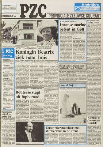 Provinciale Zeeuwse Courant 1987-08-05