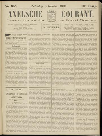 Axelsche Courant 1894-10-06