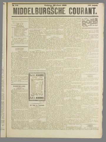 Middelburgsche Courant 1925-06-26