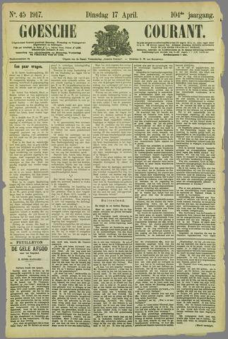 Goessche Courant 1917-04-17