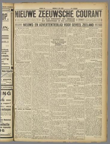 Nieuwe Zeeuwsche Courant 1923-07-03