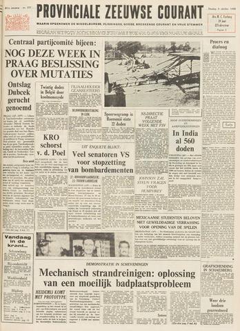 Provinciale Zeeuwse Courant 1968-10-08