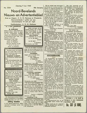 Noord-Bevelands Nieuws- en advertentieblad 1945-06-09