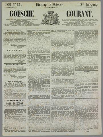 Goessche Courant 1881-10-18