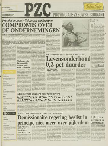 Provinciale Zeeuwse Courant 1977-07-09