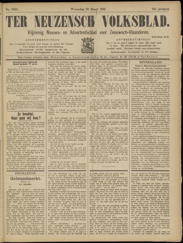 Ter Neuzensch Volksblad. Vrijzinnig nieuws- en advertentieblad voor Zeeuwsch- Vlaanderen / Zeeuwsch Nieuwsblad. Nieuws- en advertentieblad voor Zeeland 1912-03-20