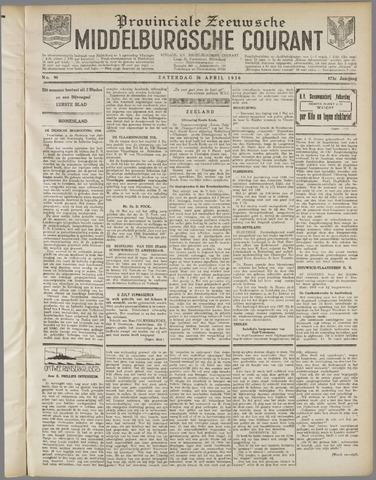 Middelburgsche Courant 1930-04-26