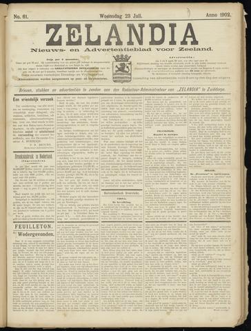 Zelandia. Nieuws-en advertentieblad voor Zeeland | edities: Het Land van Hulst en De Vier Ambachten 1902-07-23