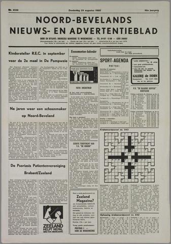 Noord-Bevelands Nieuws- en advertentieblad 1985-08-29