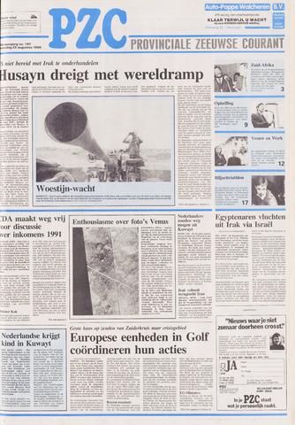Provinciale Zeeuwse Courant 1990-08-22