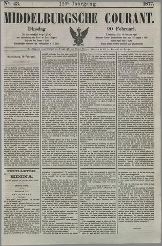 Middelburgsche Courant 1877-02-20