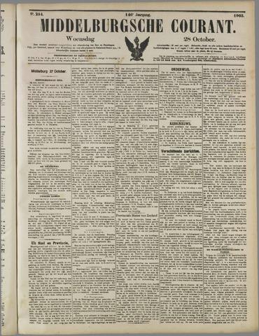 Middelburgsche Courant 1903-10-28