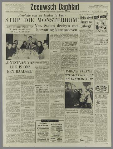 Zeeuwsch Dagblad 1961-10-21