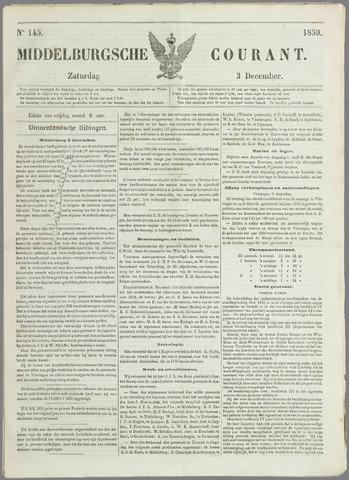 Middelburgsche Courant 1859-12-03