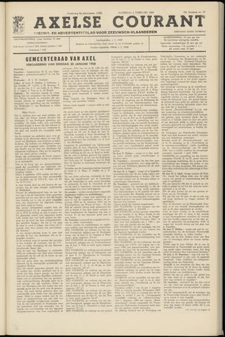 Axelsche Courant 1968-02-03