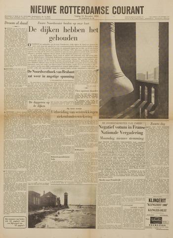 Watersnood documentatie 1953 - kranten 1954-12-24