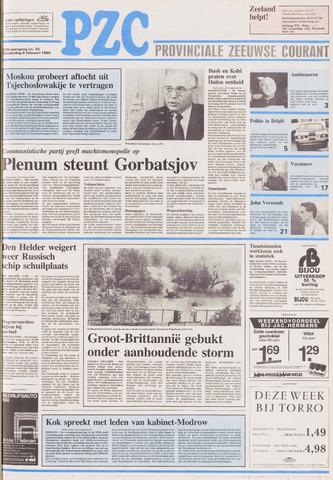 Provinciale Zeeuwse Courant 1990-02-08