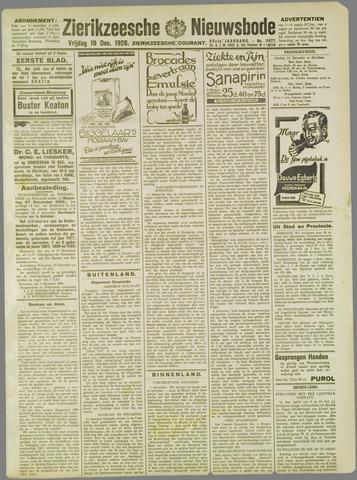 Zierikzeesche Nieuwsbode 1926-12-10