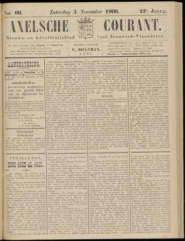 Axelsche Courant 1906-11-03