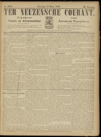 Ter Neuzensche Courant. Algemeen Nieuws- en Advertentieblad voor Zeeuwsch-Vlaanderen / Neuzensche Courant ... (idem) / (Algemeen) nieuws en advertentieblad voor Zeeuwsch-Vlaanderen 1896-03-14