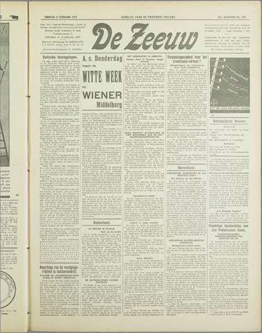 De Zeeuw. Christelijk-historisch nieuwsblad voor Zeeland 1937-02-02