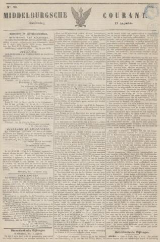 Middelburgsche Courant 1850-08-15