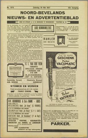 Noord-Bevelands Nieuws- en advertentieblad 1937-05-29