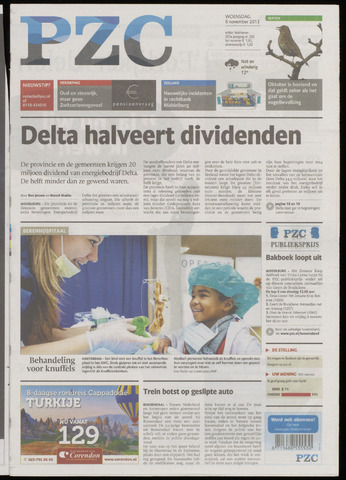 Provinciale Zeeuwse Courant 2013-11-06