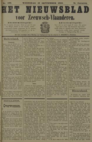 Nieuwsblad voor Zeeuwsch-Vlaanderen 1900-09-12