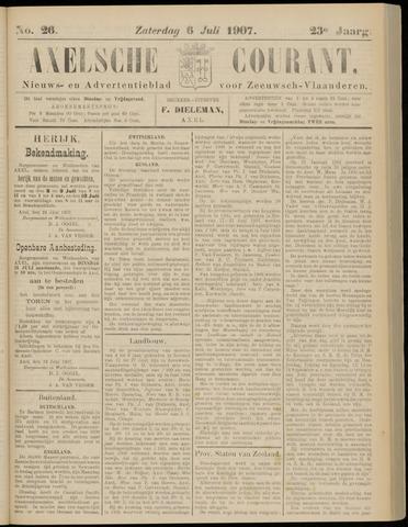 Axelsche Courant 1907-07-06