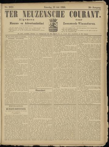 Ter Neuzensche Courant. Algemeen Nieuws- en Advertentieblad voor Zeeuwsch-Vlaanderen / Neuzensche Courant ... (idem) / (Algemeen) nieuws en advertentieblad voor Zeeuwsch-Vlaanderen 1890-07-19