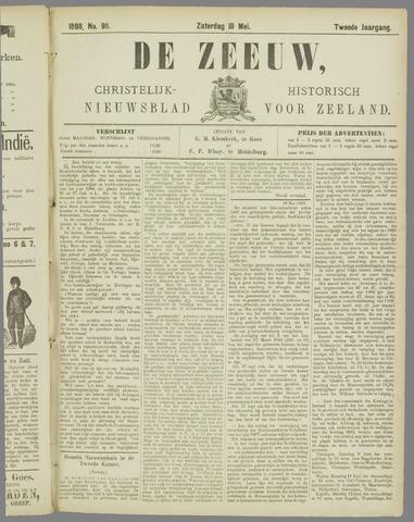 De Zeeuw. Christelijk-historisch nieuwsblad voor Zeeland 1888-05-19