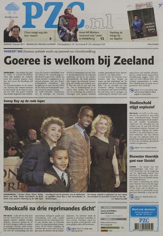 Provinciale Zeeuwse Courant 2011-01-18