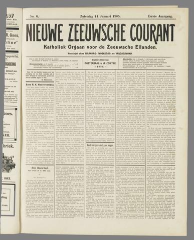 Nieuwe Zeeuwsche Courant 1905-01-14