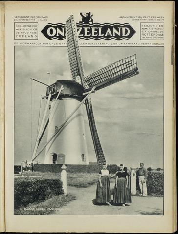 Ons Zeeland / Zeeuwsche editie 1934-11-02