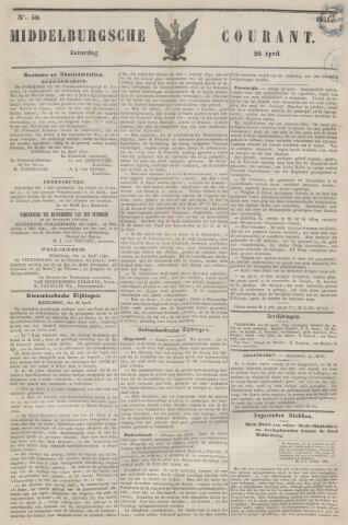 Middelburgsche Courant 1851-04-26