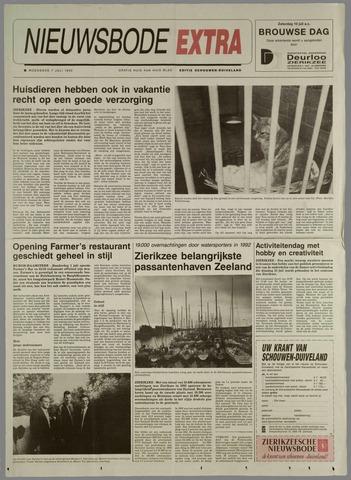 Zierikzeesche Nieuwsbode 1993-07-07