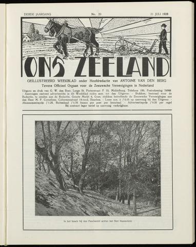 Ons Zeeland / Zeeuwsche editie 1928-07-21