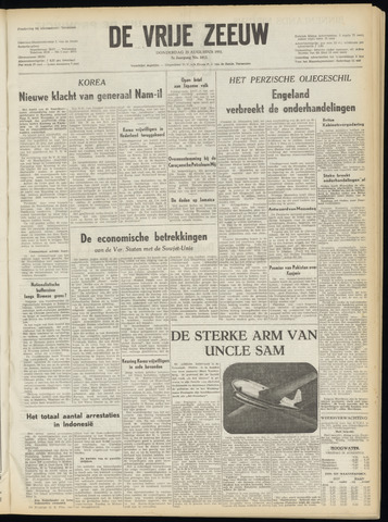 de Vrije Zeeuw 1951-08-23