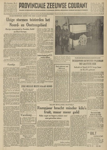 Provinciale Zeeuwse Courant 1954-01-05