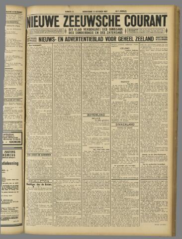 Nieuwe Zeeuwsche Courant 1927-10-13