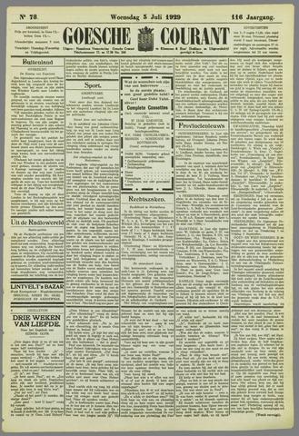 Goessche Courant 1929-07-03