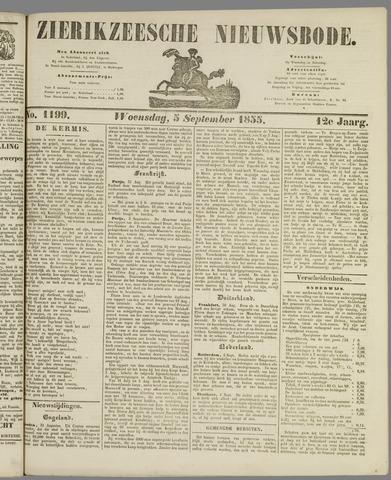 Zierikzeesche Nieuwsbode 1855-09-05