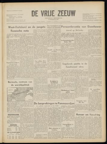 de Vrije Zeeuw 1953-12-03