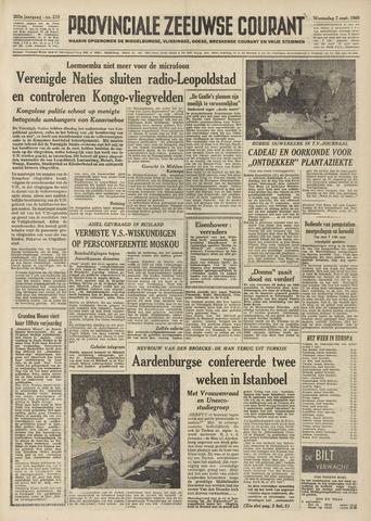 Provinciale Zeeuwse Courant 1960-09-07