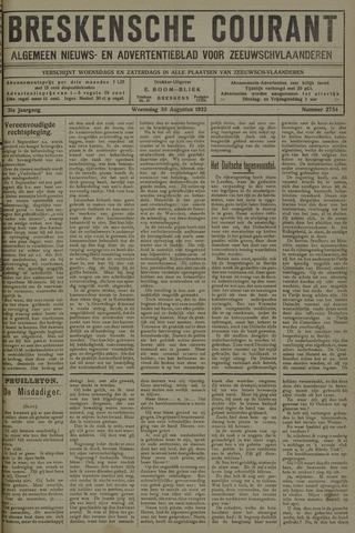 Breskensche Courant 1922-08-30